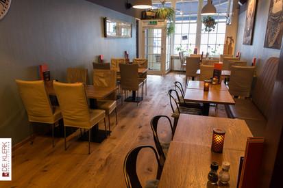 Nieuwe vloer bij Brasserie 1600 - Middelburg
