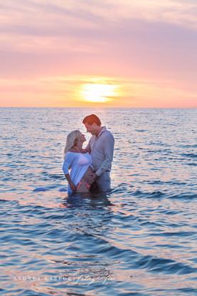 fotoshoot in de zee