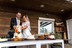 Herfst bruiloft