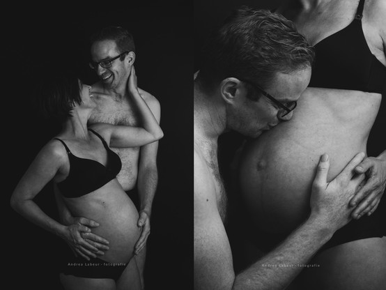 Intieme zwangerschaps foto's