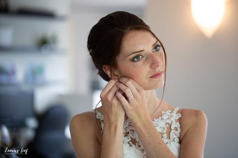 Klaarmaken voor de bruiloft