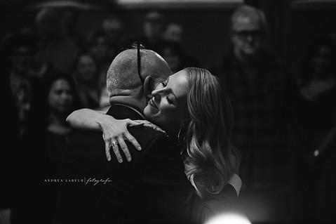 Zoveel liefde tussen vader en dochter!