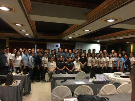 GOJUST Supports PNP's Roll out of Training for Trainers