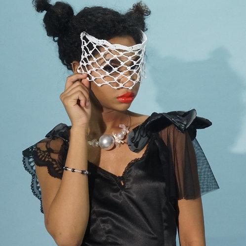 White Net Mask