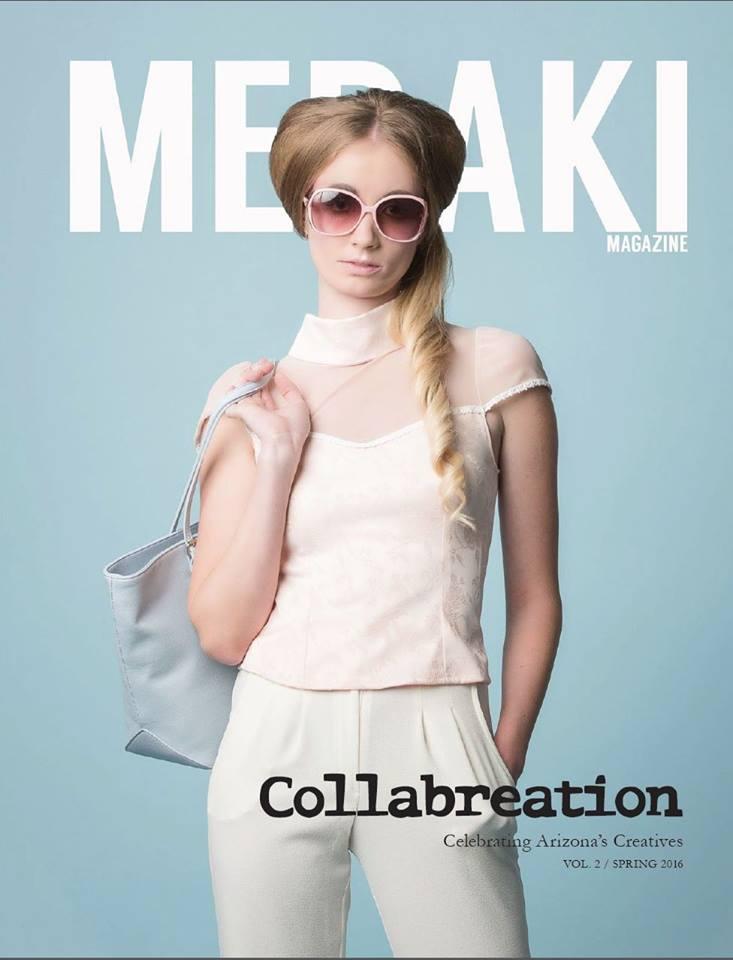 Theo Doro on the cover of MERAKI MAG