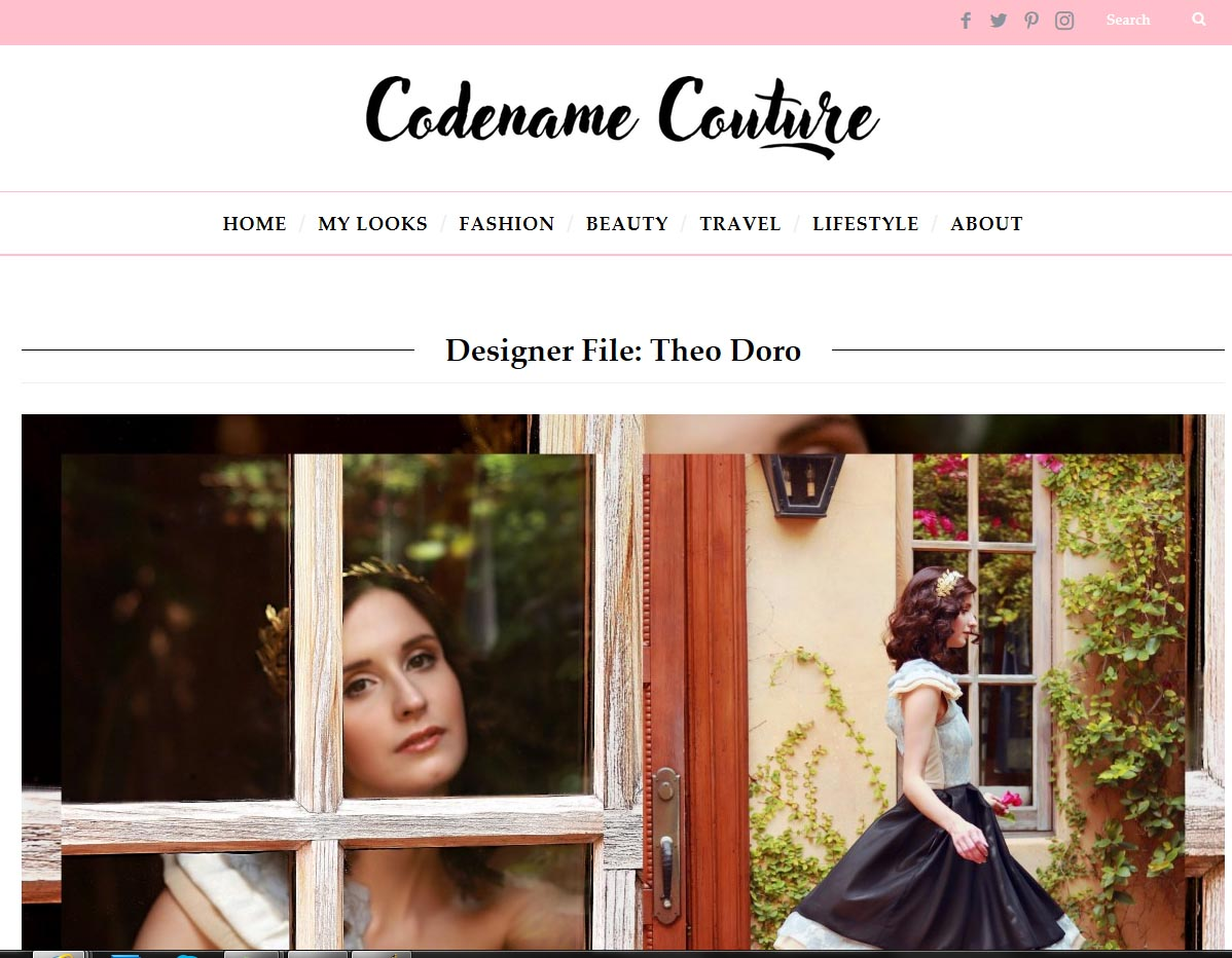 Theo Doro seen by Codename Couture