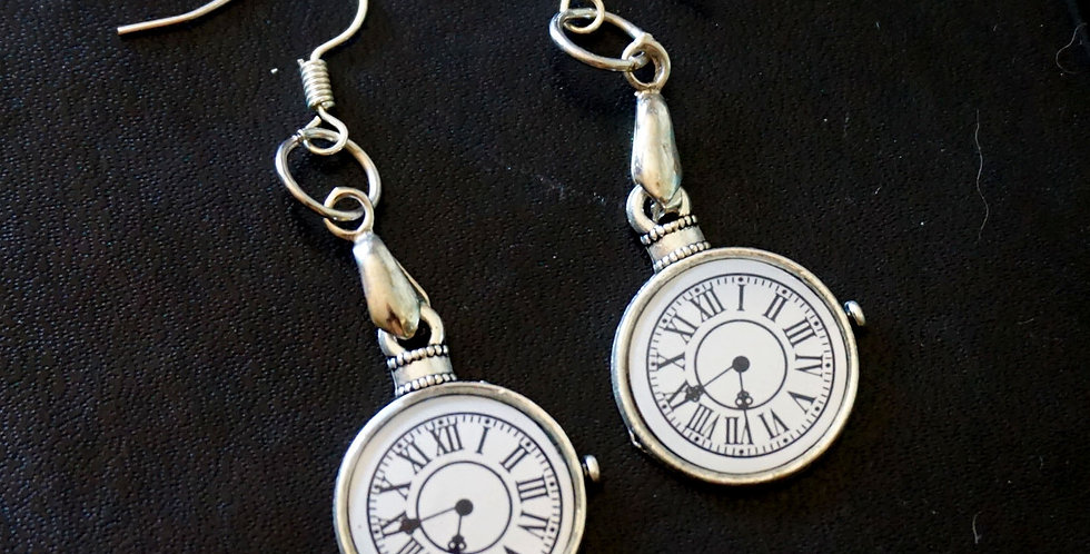Timepiece Earrings