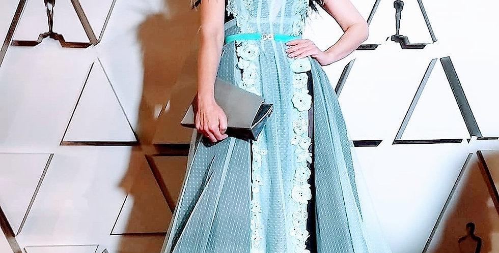 Blue Scarlett Gown