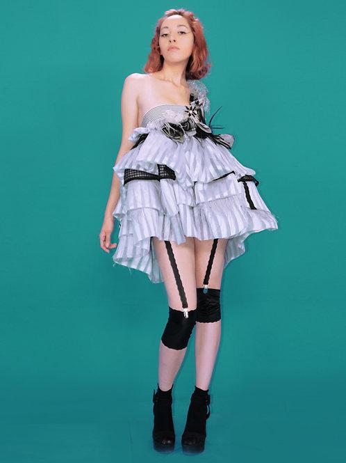 Mini Silver Doll Dress