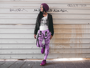 girl-with-purple-shoes-wearing-leggings-