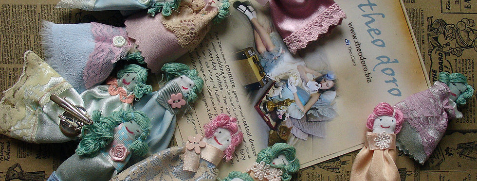 doll-brooch for gifts