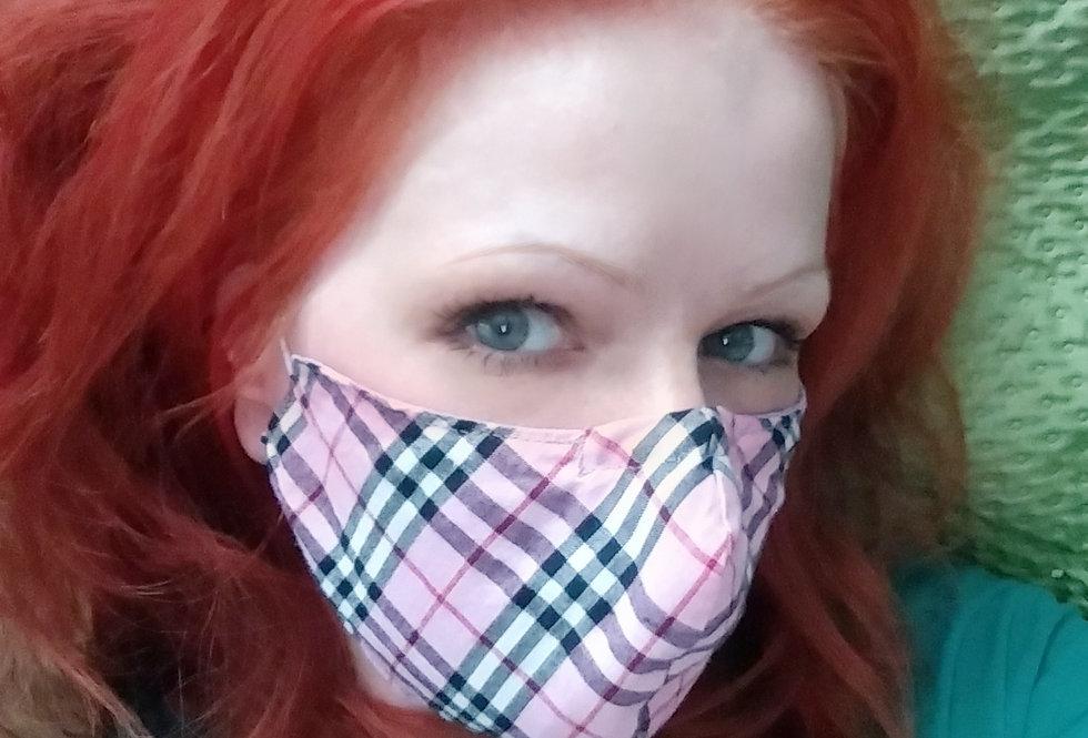 Reversible Mask: Pink-Lavender