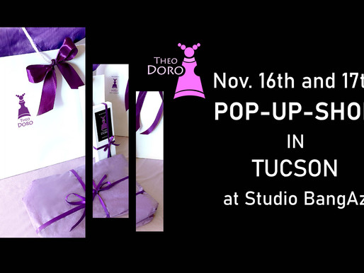 Theo Doro POP-UP-SHOP in Tucson