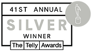 BEST SILVER TELLY WINNER at 41st Annual Telly Awards  for Dorota Zglobicka and Zbig Rybczynski