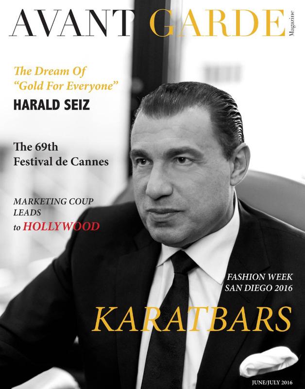 Avant Garde Magazine, Hollywood Issu