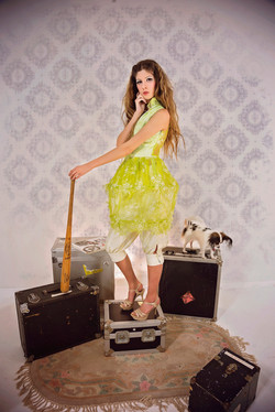 Theo Doro ss17 Mad Dollhouse, photo Adelyn Photography, Model Jessica Abea