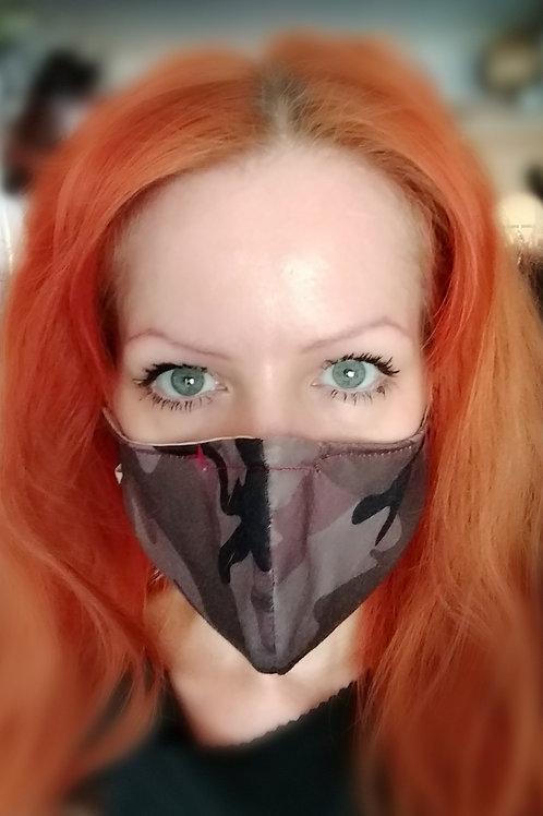 Camo Reversible Mask