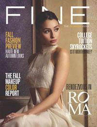 FINE MAGAZINE fall fashion issue