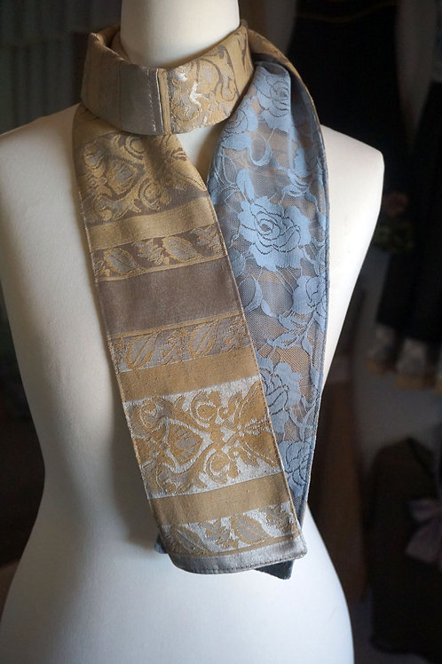 Jacquard/Lace Scarf