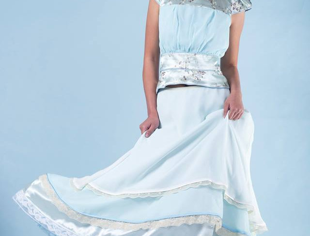 Maxi Multilayer Gown