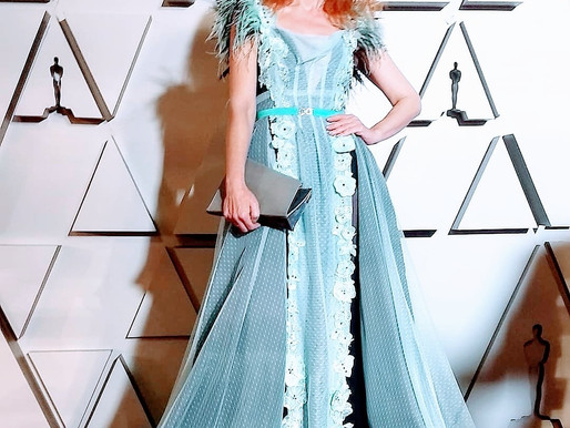 Theo Doro dress on the Oscars red carpet