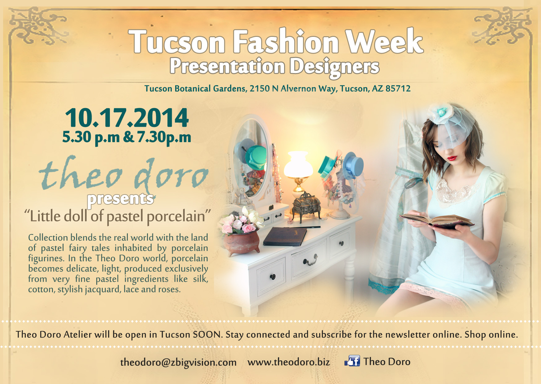 invitation Tucson Fashion Week