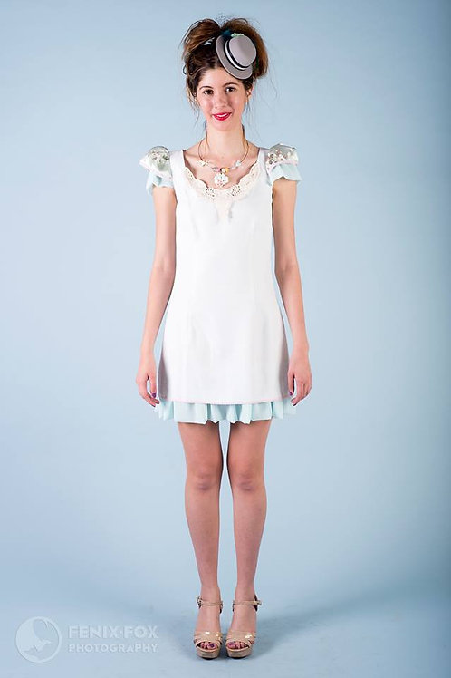 Jacquard's Dream Dress with Lace