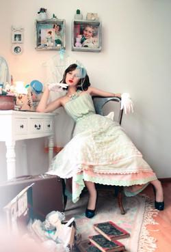 Theo Doro Midi Wedding Dress