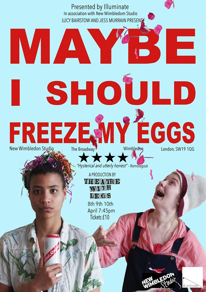 Maybe I Should Freeze My Eggs Poster