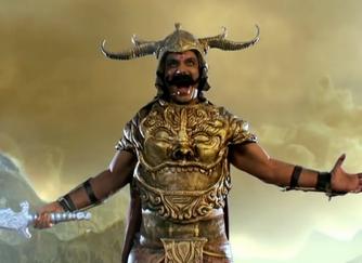 Durga and the Demon Mahisha (updated)
