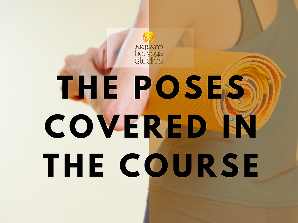 Beginners Poses Akram Yoga beginners course