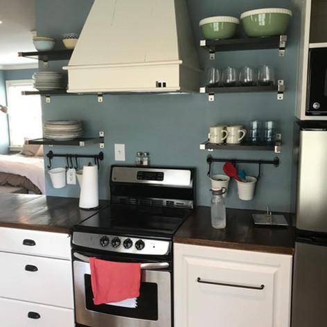 Open Shelf Concept Kitchen