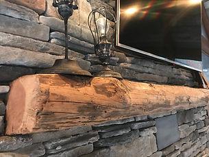 Fireplace Mantel _ Atlanta Barnwood Hear