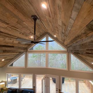Cabin Ceiling   Hardwood Paneling