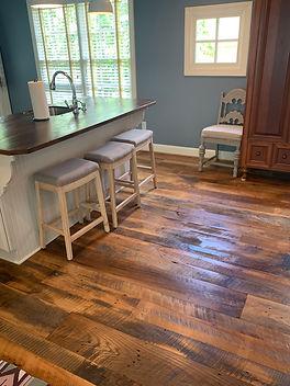 Brown Hardwood Flooring _ Sandy Springs,