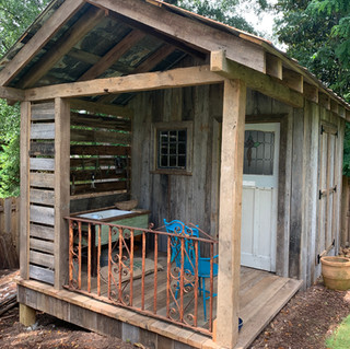Urban Garden Shed Project