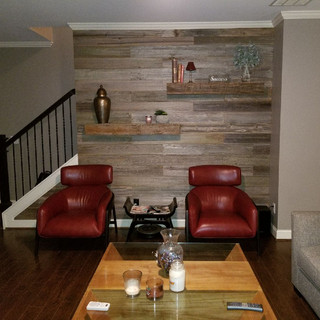 Accent Wall   Urban Wood Paneling