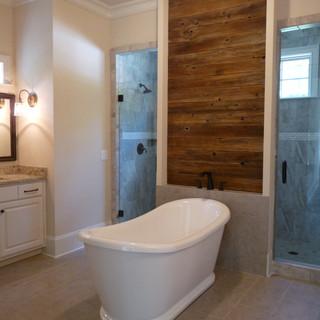 Bathroom | Reclaimed Wood Accent Wall