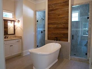 Bathroom Accent Wall _ Cumming, GA _ Atl