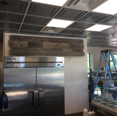 Commercial Restaurant Accent Wall