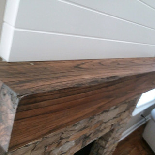 Fireplace Mantel | Dark Walnut
