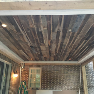 Home Office Ceiling | Shadow Paneling