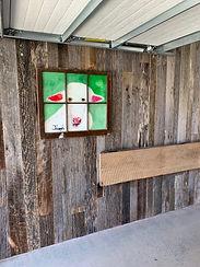Barnwood Oak Accent Wall
