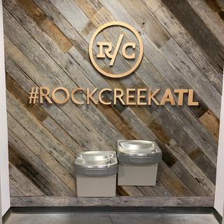 Accent Wall | Rock Creek Atlanta