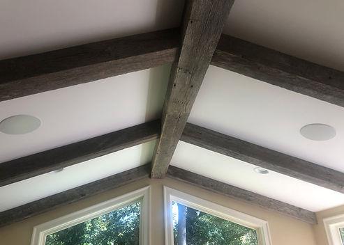 Gray Oak Box Beam