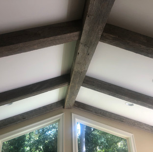 Coffered Ceiling | Oak Box Beams