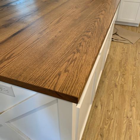 Kitchen Island | Oak Countertop
