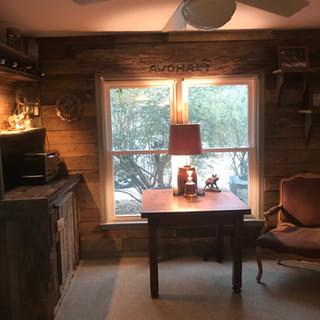 Rustic Cabin Feel   Barnwood Paneling