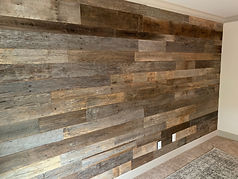 Barnwood Feature Wall