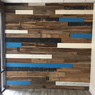 Barnwood Wall | CBD Shaman American Decatur